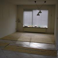 Verbouwing huiskamer